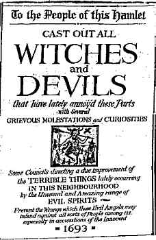 salem newspaper 1692 While the term 'witch-hunt' has become part of our common vocabulary, it has roots in the hysteria that befell salem village, massachusetts, at the.