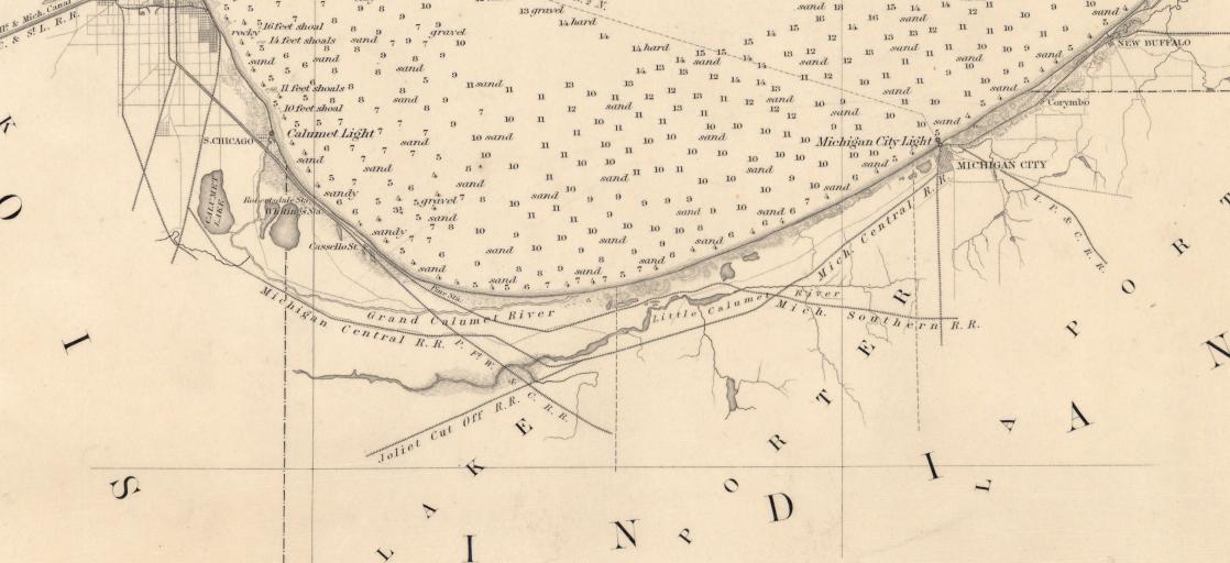 Maps - Lake michigan us map